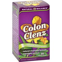 HGR0689786 - Natural BalanceColon Clenz - 30 Vegetarian Capsules