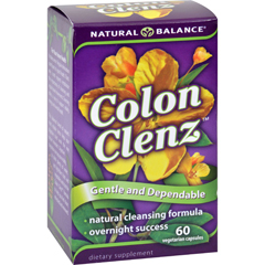 HGR0689828 - Natural BalanceColon Clenz - 60 Vegetable Capsules