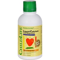 HGR0690636 - Child LifeChildlife Liquid Calcium with Magnesium Natural Orange - 16 fl oz