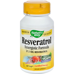 HGR0690719 - Nature's WayResveratrol - 60 Vegetarian Capsules