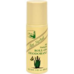 HGR0692368 - AlveraAll Natural Roll-On Deodorant Aloe Herbal - 3 fl oz