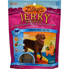 HGR0693036 - Zuke'sJerky Naturals For Dogs Beef - 6 oz