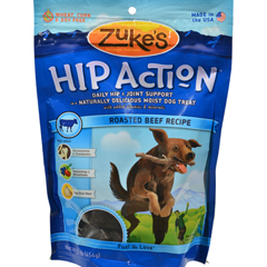 HGR0693051 - Zuke'sHip Action Daily Hip and Joint Support Treat For Dogs Beef - 1 lb