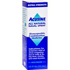 HGR0696468 - AcusineNasal Spray - .5 oz