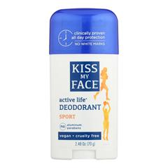 HGR0699793 - Kiss My Face - Deodorant Active Life Sport Aluminum Free - 2.48 oz.