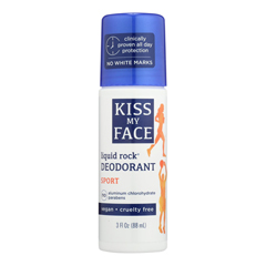 HGR0699942 - Kiss My FaceDeodorant Liquid Rock Roll On Sport - 3 fl oz