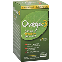 HGR0699983 - AmerifitNutrition Ovega-3 - 500 mg - 60 Vegetarian Softgels