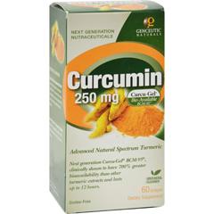HGR0701581 - Genceutic Naturals - Curcumin - 250 mg - 60 Softgels