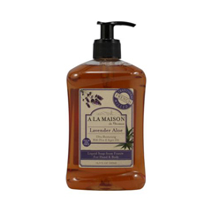 HGR0702852 - A La Maison - French Liquid Soap Lavender Aloe - 16.9 fl oz