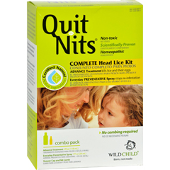 HGR0703496 - Hyland'sQuit Nits Complete Head Lice Kit