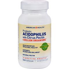 HGR0704387 - American HealthProbiotic Acidophilus with Pectin - 100 Capsules