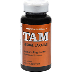 HGR0704981 - American HealthTam Herbal Laxative - 100 Tablets