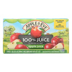 HGR0705467 - Apple and Eve - 100 Percent Apple Juice - Case of 6 - 40 Bags