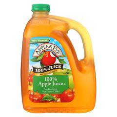 HGR0705616 - Apple and Eve - 100 Percent Apple Juice - Case of 4 - 128 fl oz..