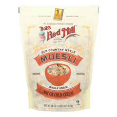HGR0706820 - Bob's Red Mill - Old Country Style Muesli Cereal - 18 oz - Case of 4
