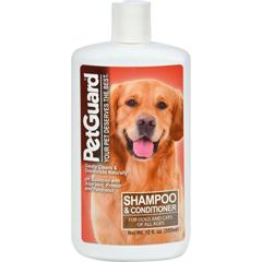 HGR0709907 - PetGuardShampoo And Conditioner For Dogs - 12 fl oz
