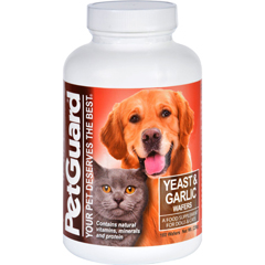HGR0710202 - PetGuardPetguard Yeast and Garlic - 160 Wafers