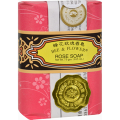 HGR0711606 - Bee and FlowerSoap Rose - 2.65 oz - Case of 12