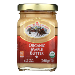 HGR0712042 - Shady Maple Farms - 100 Percent Pure Organic Maple Butter - Case of 8 - 9.2 oz..