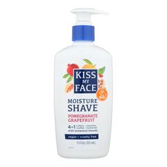 HGR0713958 - Kiss My FaceMoisture Shave Pomegranate Grapefruit - 11 oz