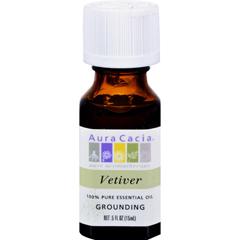 HGR0714147 - Aura CaciaPure Essential Oil Vetiver - 0.5 fl oz
