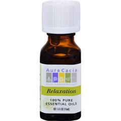 HGR0714741 - Aura Cacia - Relaxation Essential Oil Blend - 0.5 fl oz