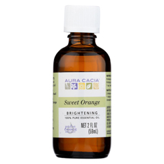 HGR0714865 - Aura Cacia - Essential Oil - Brightening Sweet Orange - 2 oz.
