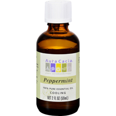 HGR0714881 - Aura Cacia - Peppermint Pure Essential Oil - 2 fl oz