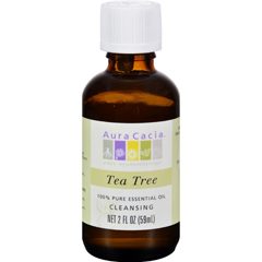 HGR0715268 - Aura Cacia100% Pure Essential Oil Tea Tree Cleansing - 2 oz
