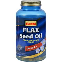 HGR0718056 - Health From The SunHealth From the Sun Organic Flax 1000 Original Formula - 180 Softgels