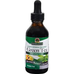 HGR0719880 - Nature's AnswerSuper Green Tea Alcohol Free Peach - 2 fl oz