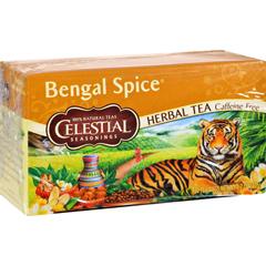 HGR0720581 - Celestial SeasoningsHerbal Tea - Bengal Spice - Caffeine Free - 20 Bags