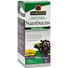 HGR0721134 - Nature's AnswerSambucus nigra Black Elder Berry Extract - 4 fl oz