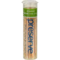 HGR0725762 - PreserveFlavored Toothpicks Mint Tea Tree - 35 Pieces - Case of 24
