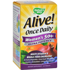 HGR0726588 - Nature's WayAlive Once Daily Womens 50 plus - 60 Tablets