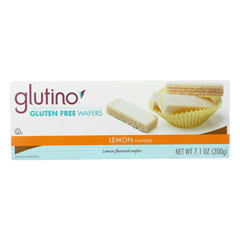 HGR0726612 - Glutino - Wafer Bites - Lemon - Case of 12 - 7.1 oz..