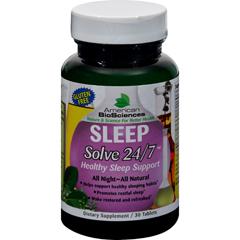 HGR0727362 - American Bio-ScienceSleep Solve 24/7 - 30 Ct