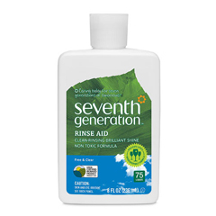 HGR0728923 - Seventh GenerationDish Rinse Aid - Free and Clear - 8 oz - Case of 9