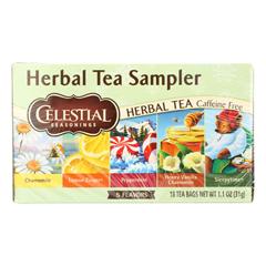 HGR0733642 - Celestial Seasonings - Herbal Tea - Sampler - Case of 6 - 18 BAG