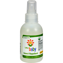 HGR0733865 - Lafe's Natural Body CareOrganic Baby Insect Repellent - 4 fl oz