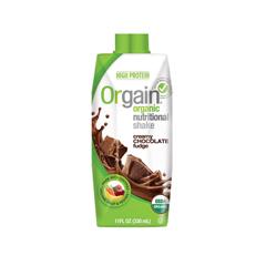 HGR0736512 - Orgain - Organic Nutritional Shakes - Creamy Chocolate Fudge - 11 Fl oz..