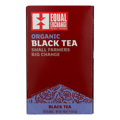 HGR0737049 - Equal Exchange - Organic Black Tea - Black Tea - Case of 6 - 20 Bags