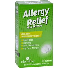 HGR0737411 - NatraBioAllergy Relief Non-Drowsy - 60 Tablets