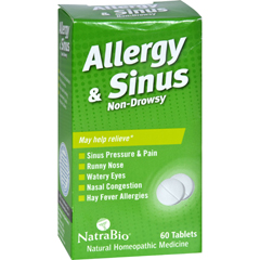 HGR0737437 - NatraBioAllergy and Sinus Non-Drowsy - 60 Tablets