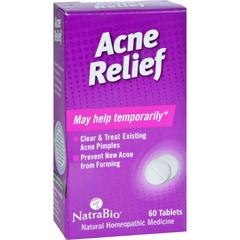 HGR0737759 - NatraBioAcne Relief - 60 Tablets
