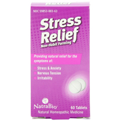 HGR0737791 - NatraBioStress Relief Non-Habit Forming - 60 Tablets