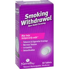 HGR0737817 - NatraBioSmoking Withdrawl Non-Habit Forming - 60 Tablets