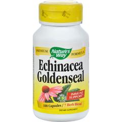 HGR0737908 - Nature's WayEchinacea Goldenseal - 100 Capsules