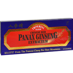 HGR0738351 - Imperial ElixirChinese Red Panax Ginseng Extractum - 10 bottles - 10 ml each