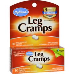 HGR0738500 - Hyland'sLeg Cramps - 50 Quick Disolving Tablets